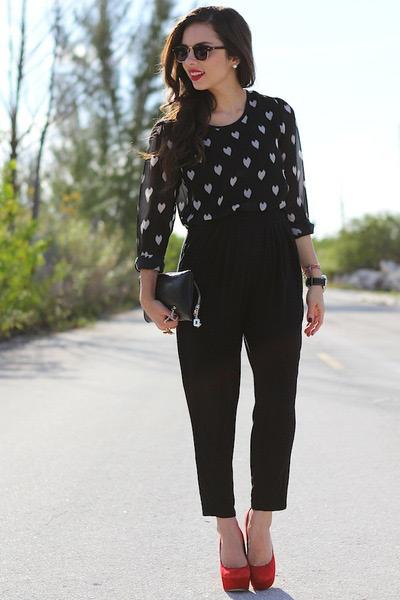 Выбираем обувь к чёрным брюкам