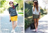 Выбираем цвет мини-юбки
