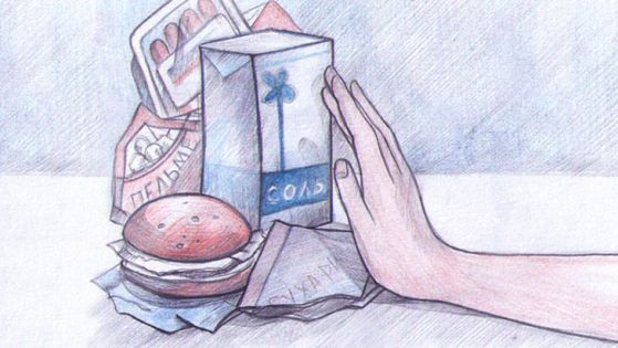Бессолевая диета меню: