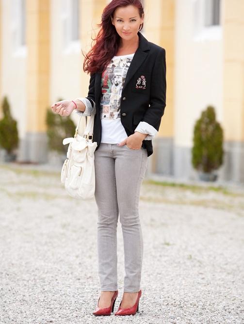 Несколько советов тем, кто носит серые брюки