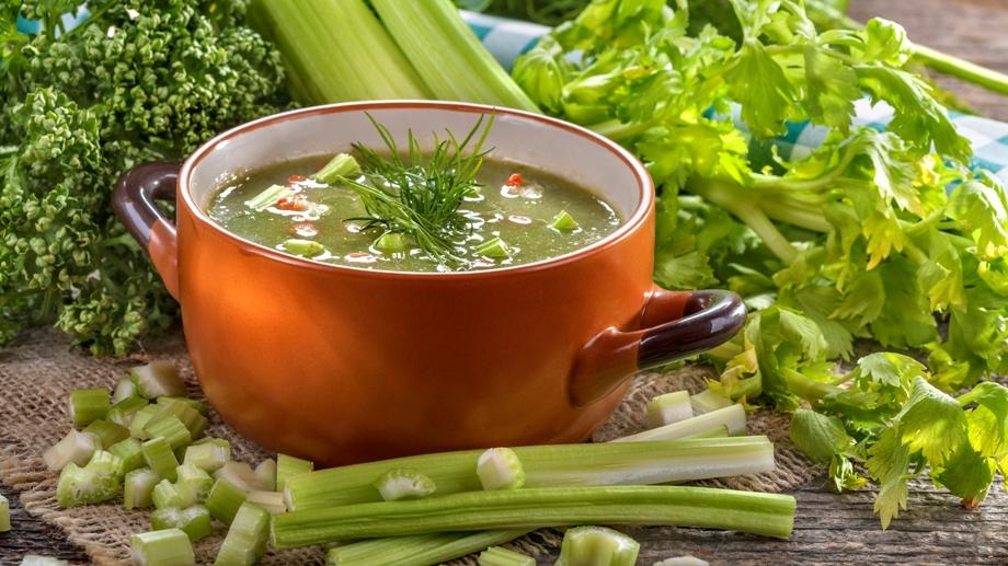 Сельдереевый суп: диета на 7 дней