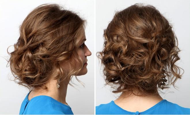 Лёгкие причёски на свадьбу своими руками фото фото 266