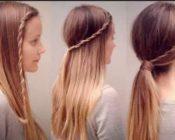 Как сделать причёску в школу красиво и быстро?