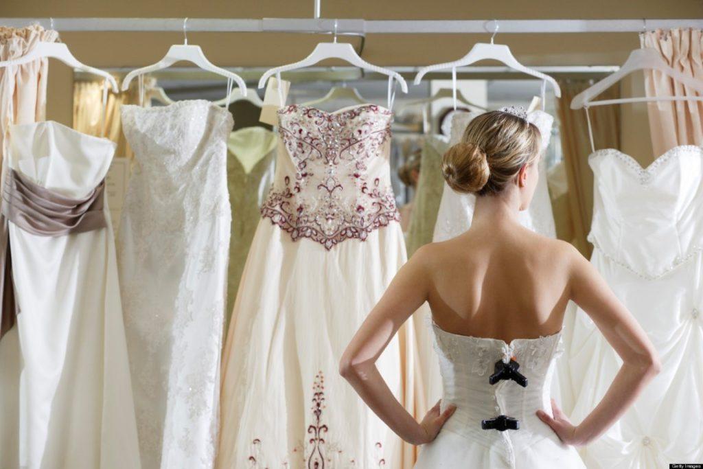 Несколько ошибок, которые можно допустить при выборе свадебного платья