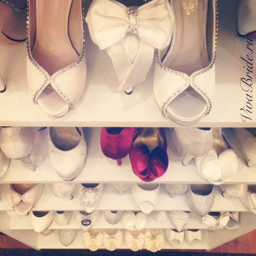 Выбор свадебной обуви