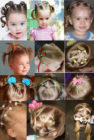 Выбираем причёску для девочки на праздник