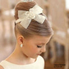 Выбираем детскую причёску на свадьбу