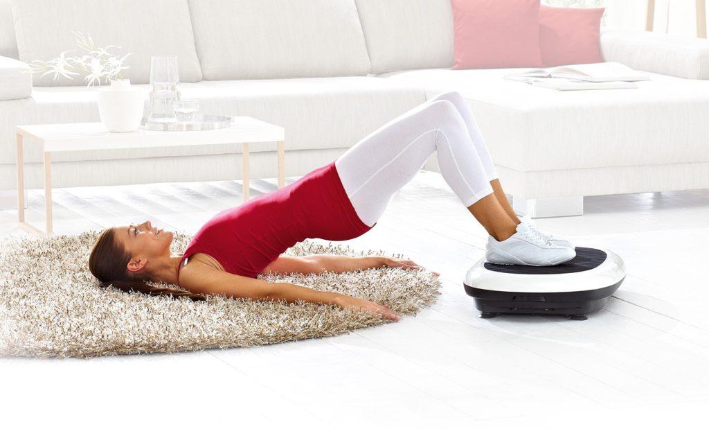 Примеры упражнения с виброплатформой