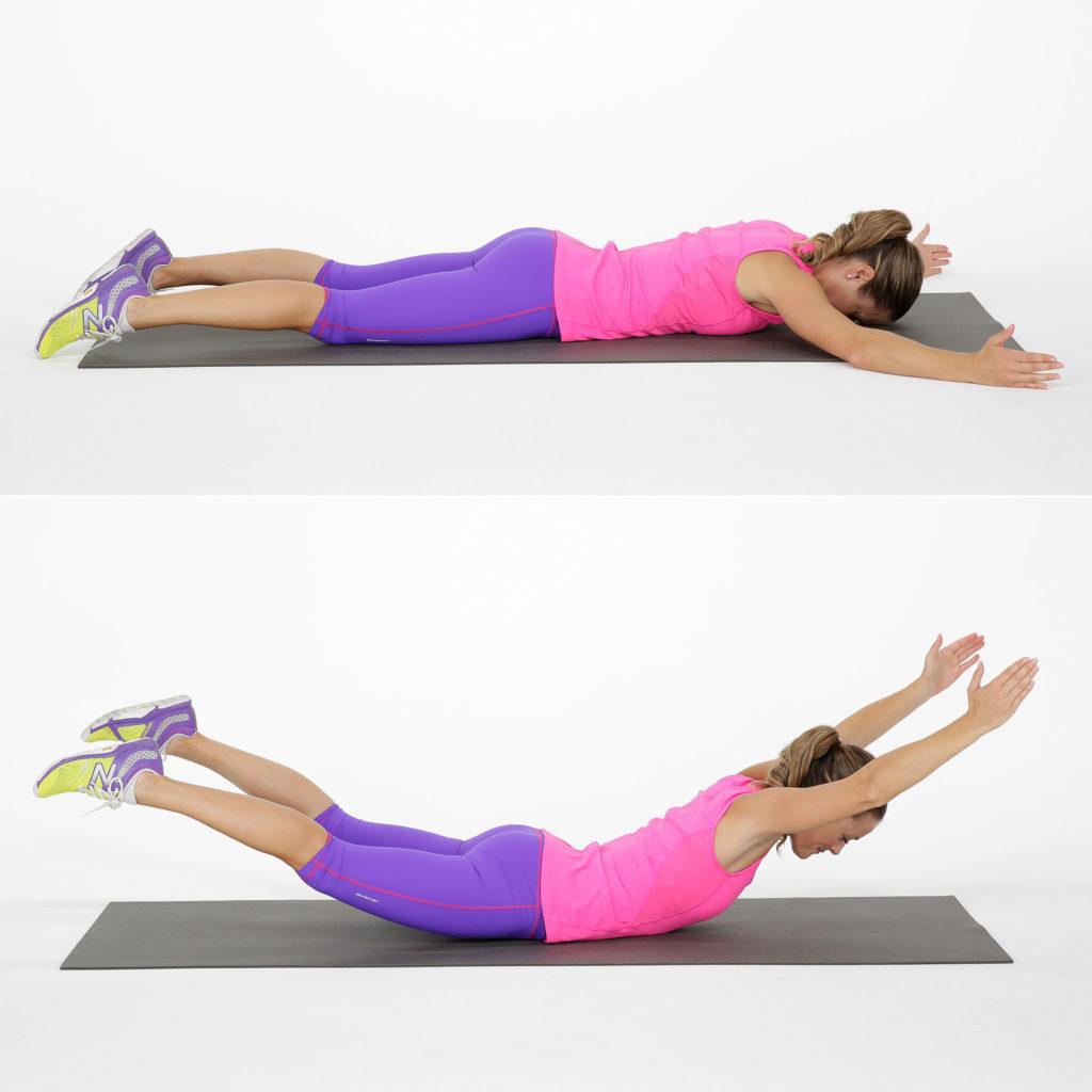 Эффективные приёмы для стройной спинки