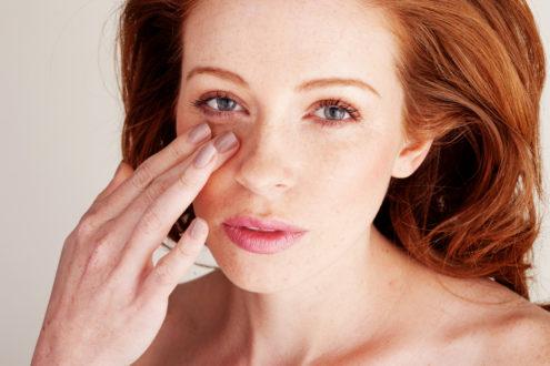Как убрать тени под глазами
