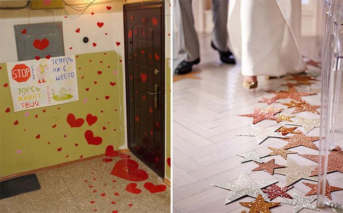 Как украсить дом к свадьбе своими руками