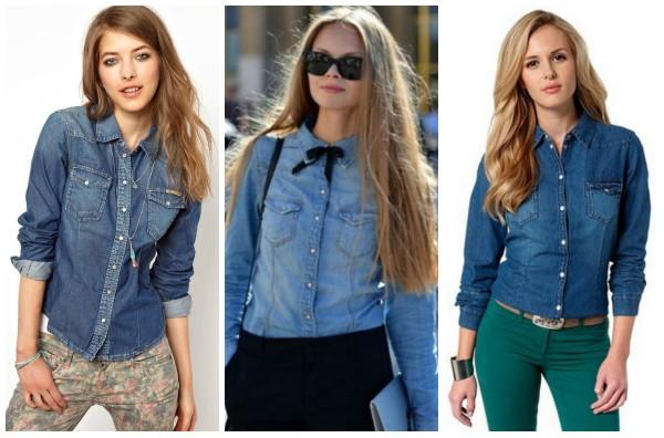 Как выбрать джинсовую рубашку?