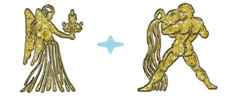Джентльмен-Дева и Водолей-Женщина
