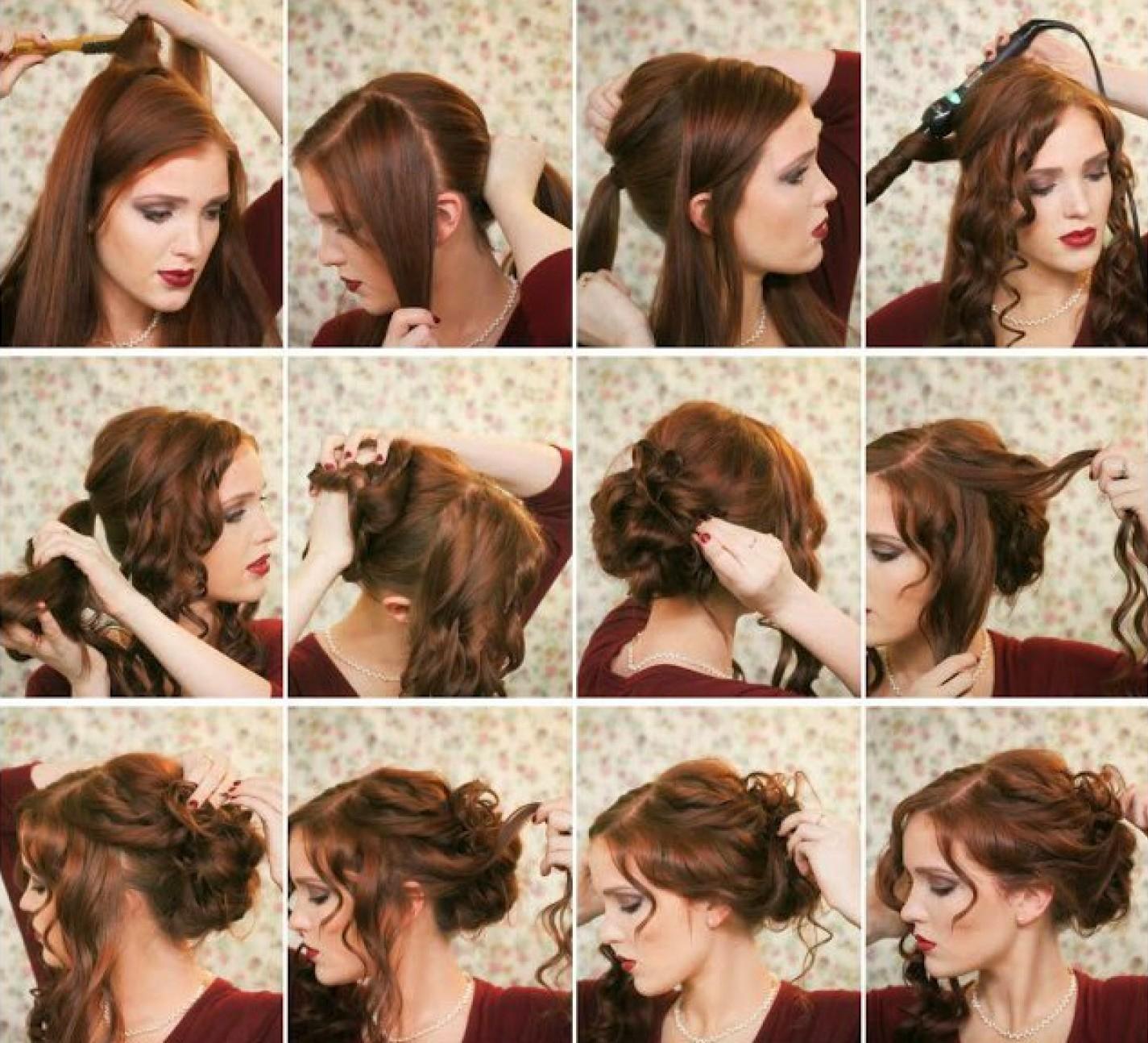 Прически для свадьбы на длинные волосы с фатой
