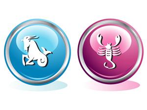 Женщина-Скорпион и мужчина-Козерог