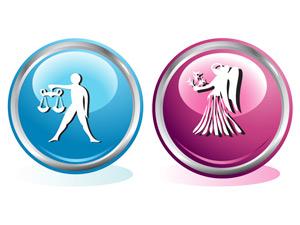 Женщина-Дева и Мужчина-Весы
