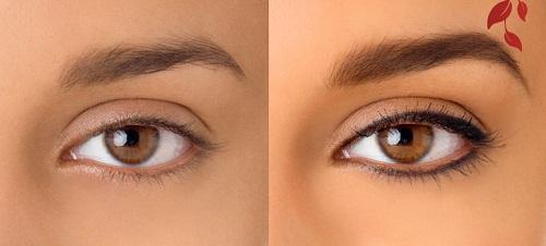 Перманентный макияж глаз: фото до и после, фото успешных работ