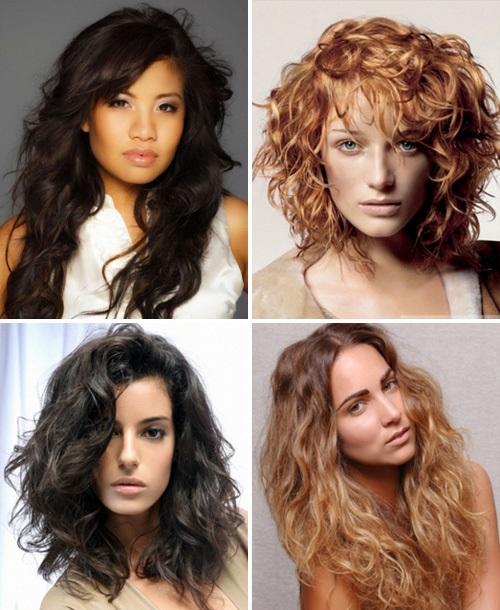 Стрижки на длинные волосы 2017 женские фото вьющиеся