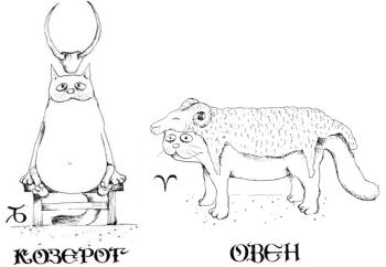 Мужчина-Козерог и Женщина-Овен