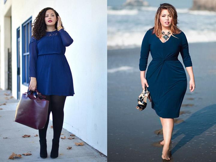 Платья 2017 года для полных женщин