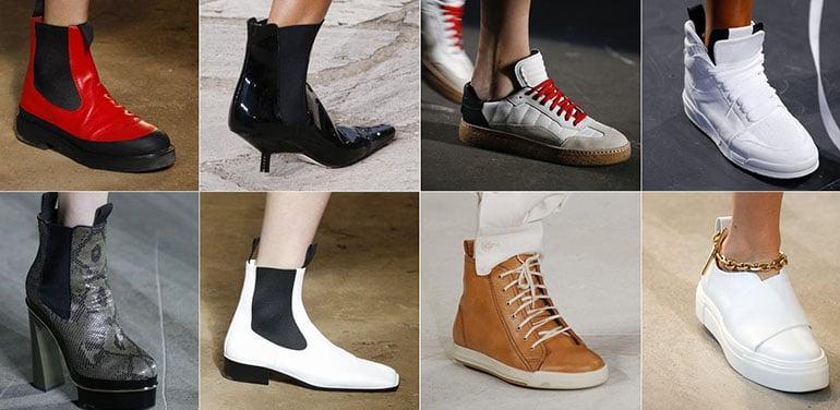 Какие новшества стоит ожидать в одежде и обуви в начале 2017?
