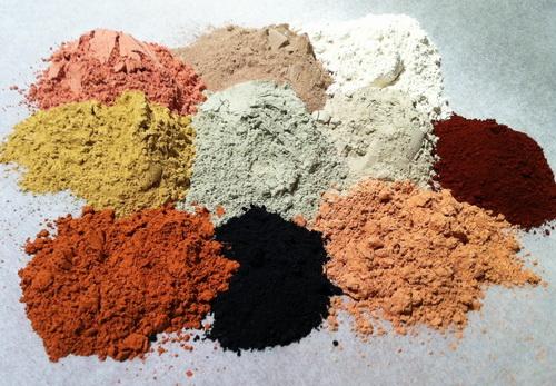Основные виды глины