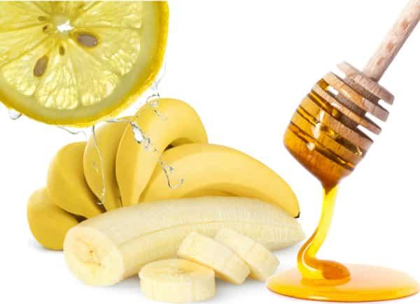 Желатиново-банановая маска