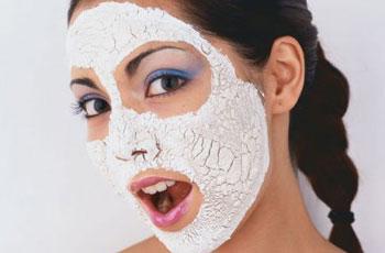 Глиняная маска с куркумой