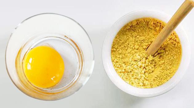 Маска для роста волос из горчицы и яйца