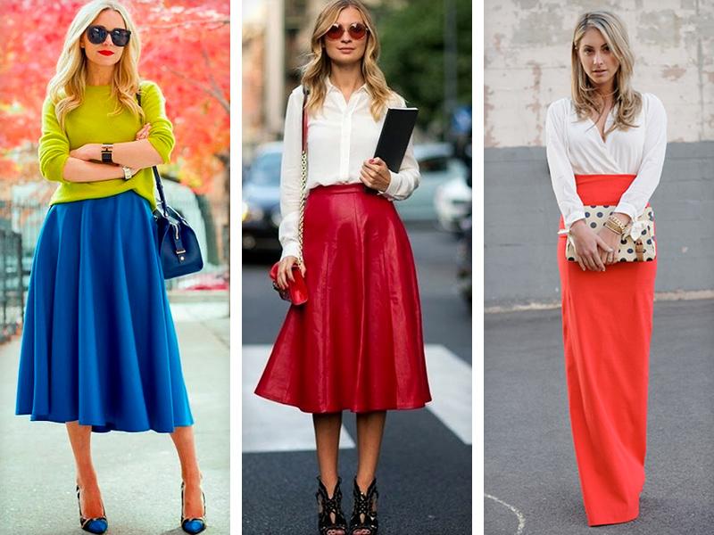 Кружевная кофта и длинная юбка