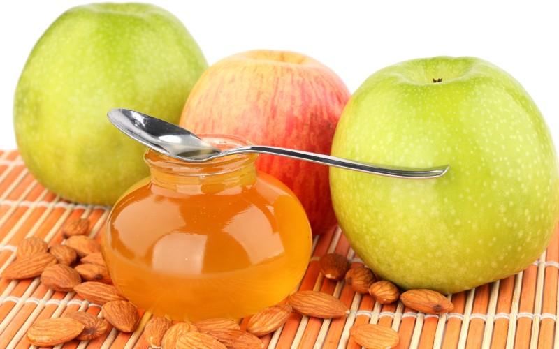 Медово-яблочная маска