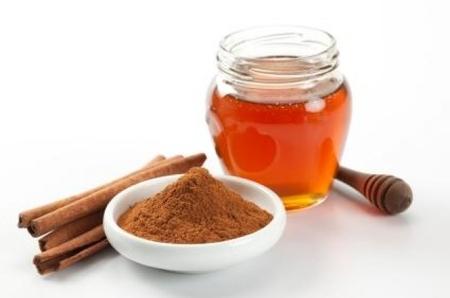 Маска с мёдом и корицей
