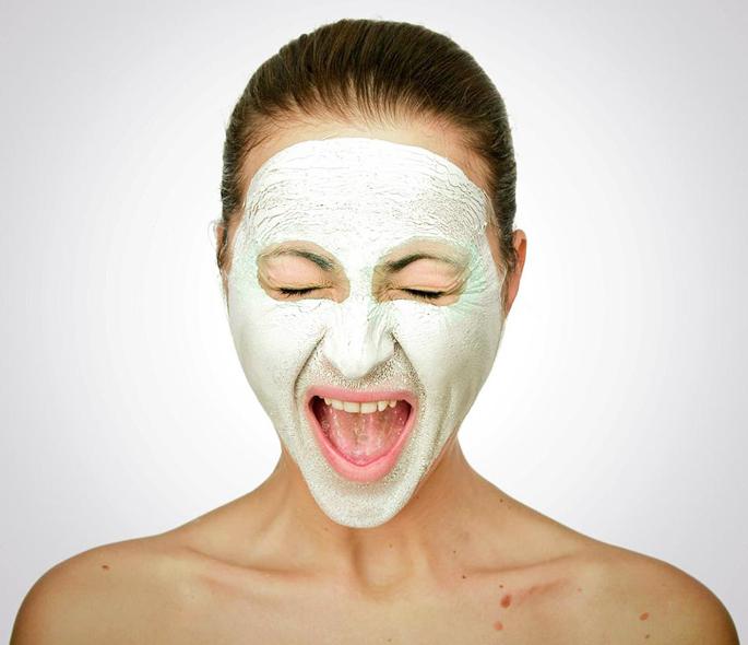 Глиняная маска с салициловой кислотой