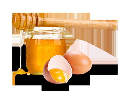 Медово-яичная маска для кожи с признаками увядания