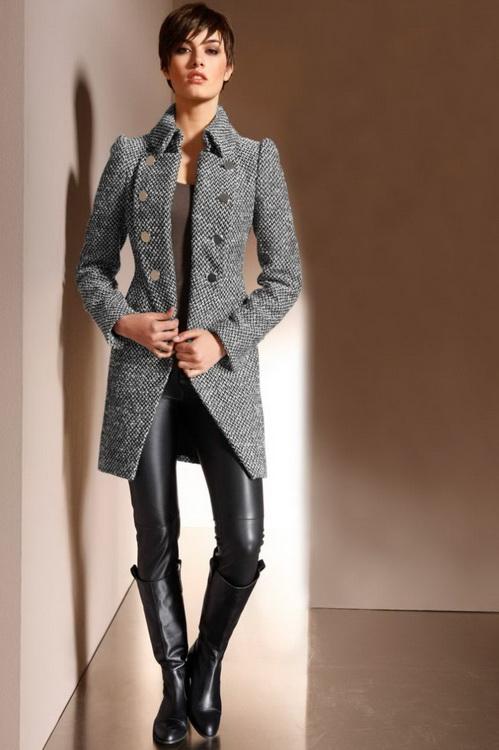 Комплекты к длинному пиджаку