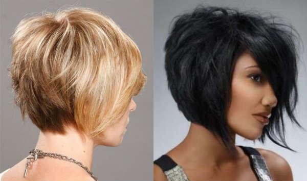 Причёски каре-боб