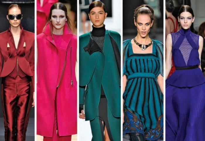 Модные оттенки 2017
