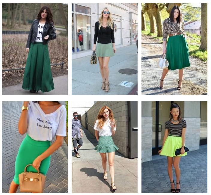 Какой оттенок зелёного выбрать?
