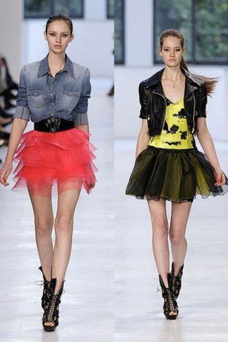 Модные тренды с пышными юбками