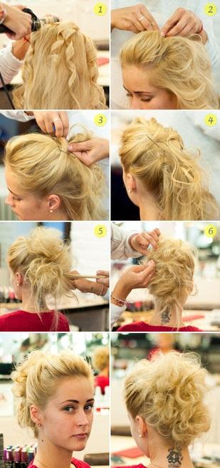 Примеры простых причёсок для обладательниц длинных волос
