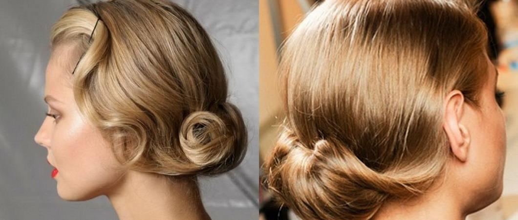 Вечерние прически фото на средние волосы