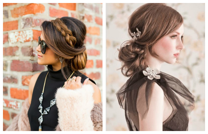 Пучки и плетения для длинных волос