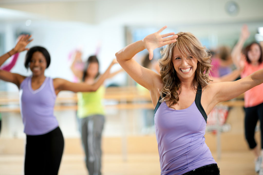 Танцы в помощь худеющим
