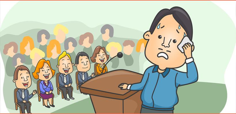Совет 7. Представьте, что вы выступаете перед зрителями