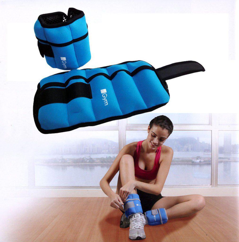 Как сделать утяжелители для ног своими руками просто