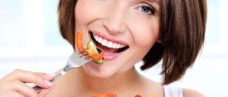 Трехдневная диета от морщин