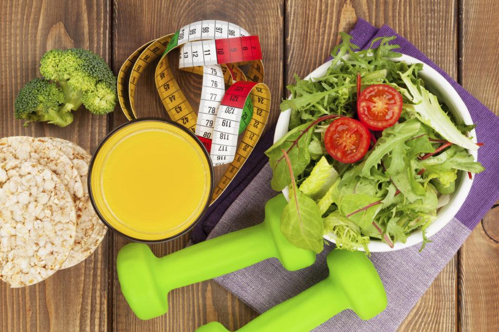 Диета при занятии фитнесом для похудения